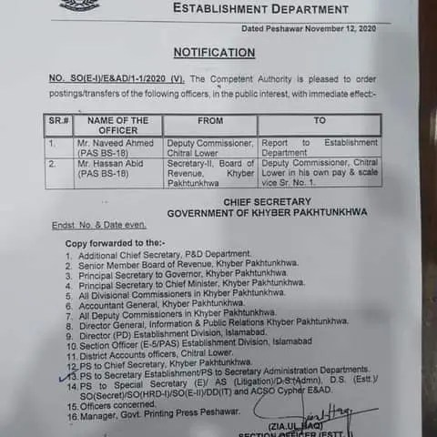 DC Lower Chitral transferred