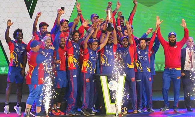 Karachi Kings wins PSL final after beating Qalandars