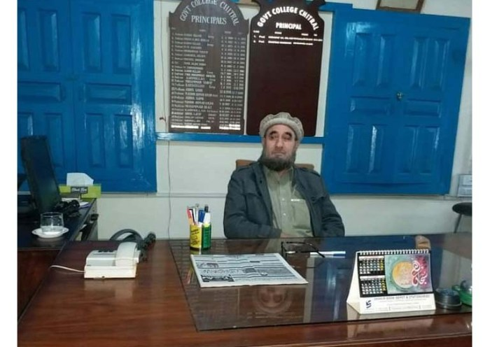 Prof Karim takes charge as principal GDC Chitral