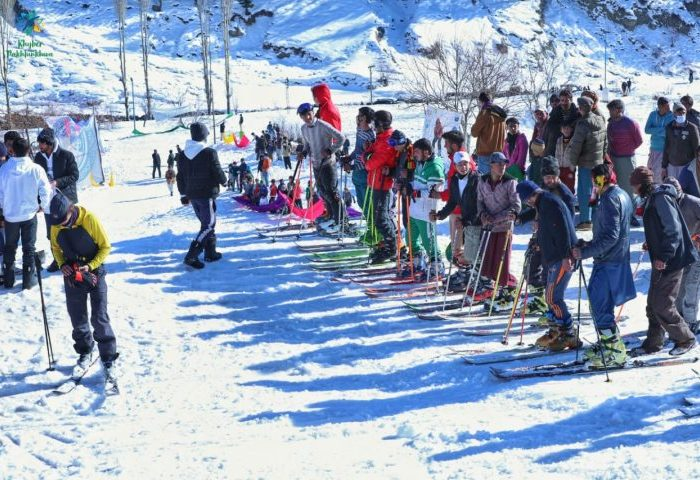 Snow sports festival in Madak Lasht