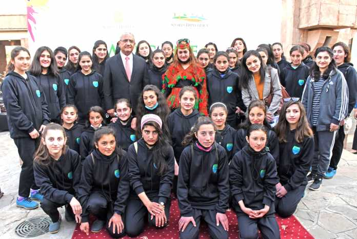 Chitrali girl footballers given reception in Islamabad