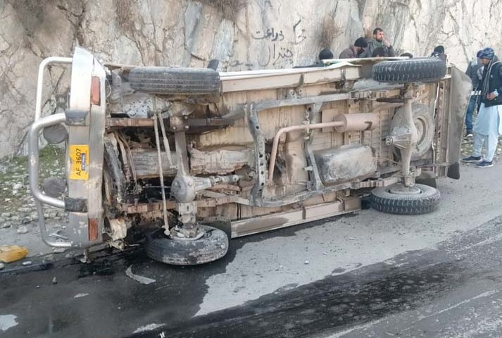 Two injured in road accident