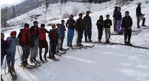 Snow sports to start in Madak Lasht on 29th
