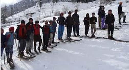 Snow sports to start in Madak Lasht on 29th