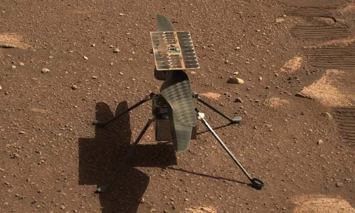 NASA copter's test flight on Mars expected