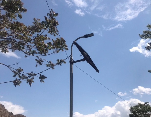 Abandoned streetlights of Booni