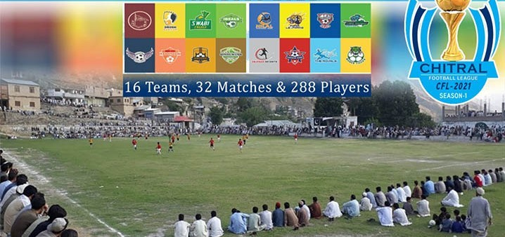 Chitral Football League in late August