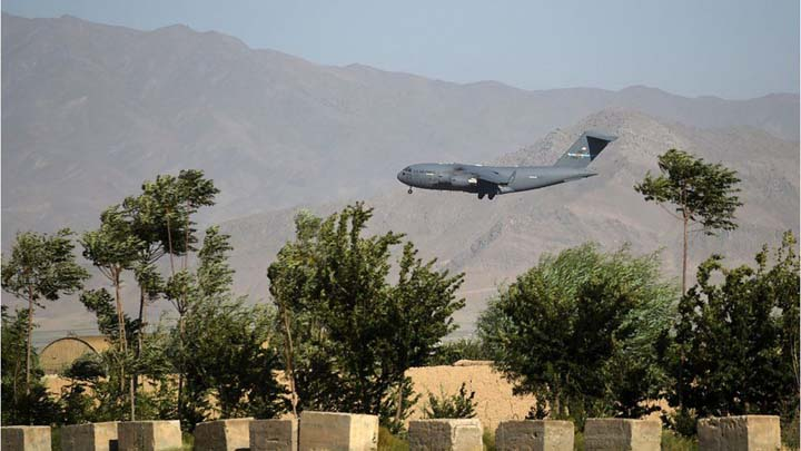 Last US and Nato forces leave Bagram base
