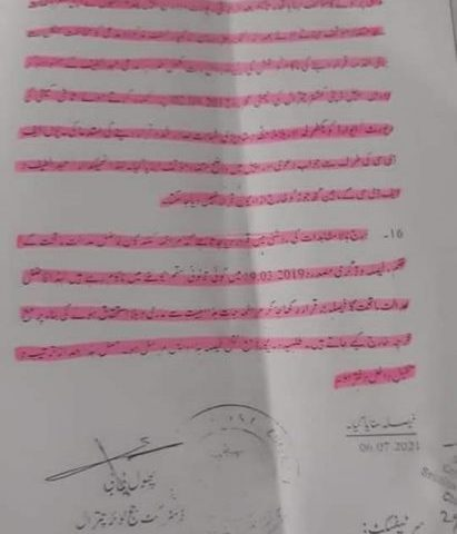 Timber case against PTI leader