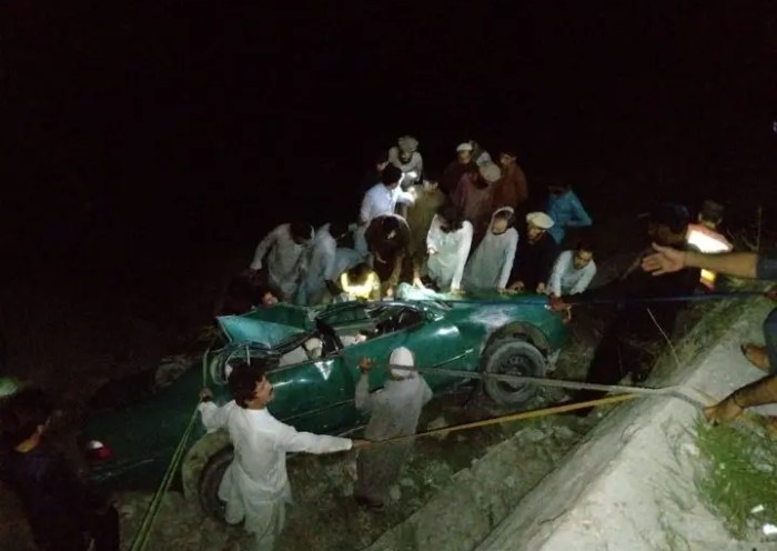 Woman killed, two injured in accident near Naghar