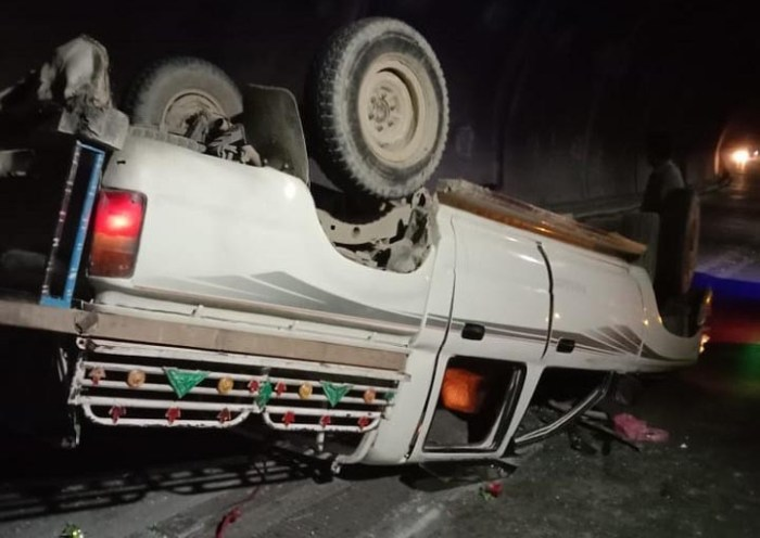 16 injured in accident in Lowari tunnel