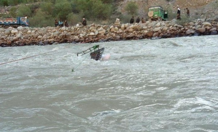 Upper Chitral reels from falling timber bridges