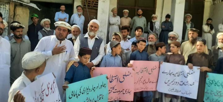 Residents protest against under-construction Bejaan Hotel