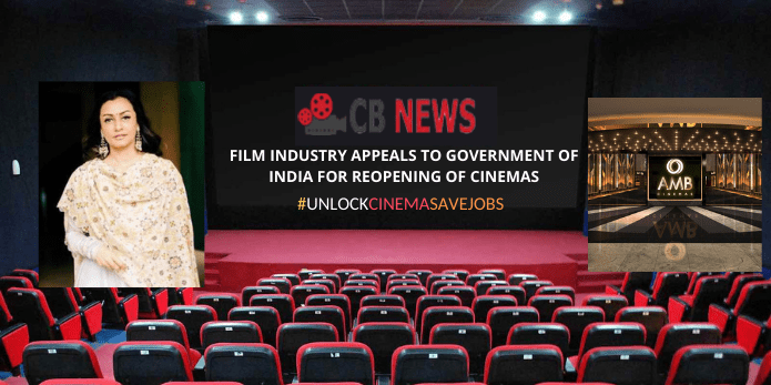 FILM INDUSTRY APPEALS TO GOVERNMENT OF INDIA FOR REOPEN