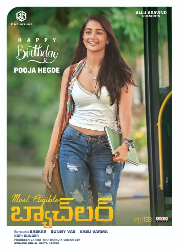 Pooja Hegde As Vibha For Most Eligible Bachelor movie