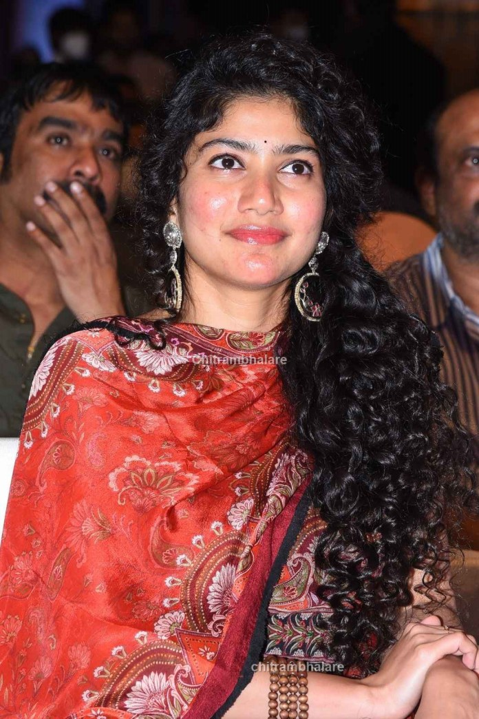 Actress Sai Pallavi Photos From Love Story Pre Release event