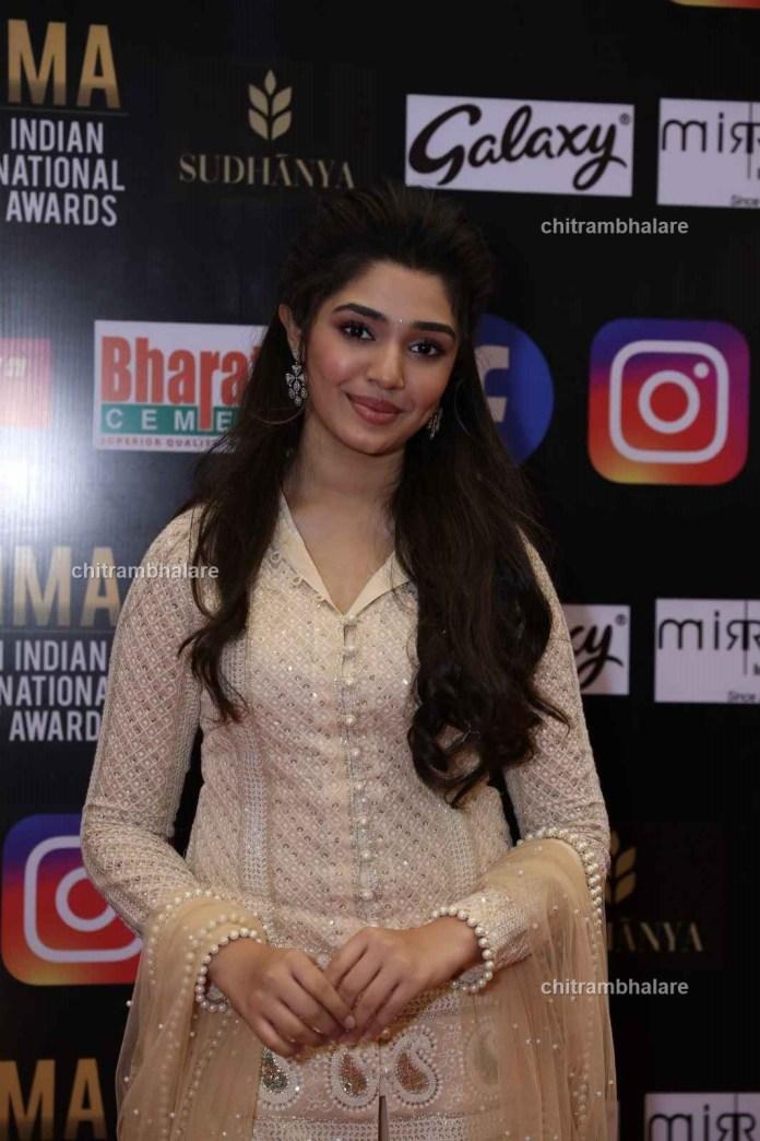 Krithi Shetty at Siima Awards 2021 photos