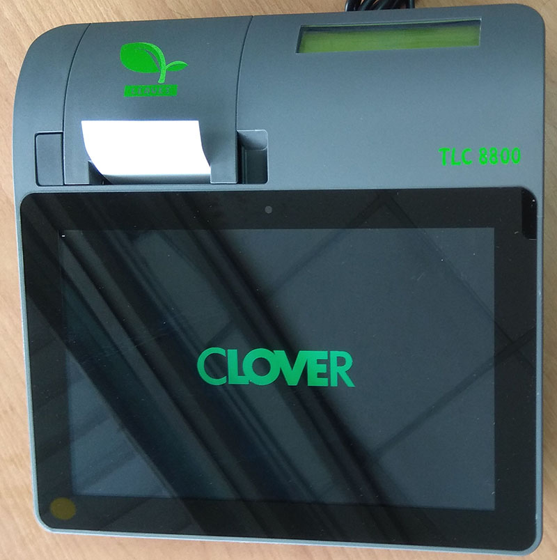 Clover TLC8800 電子發票POS收銀系統
