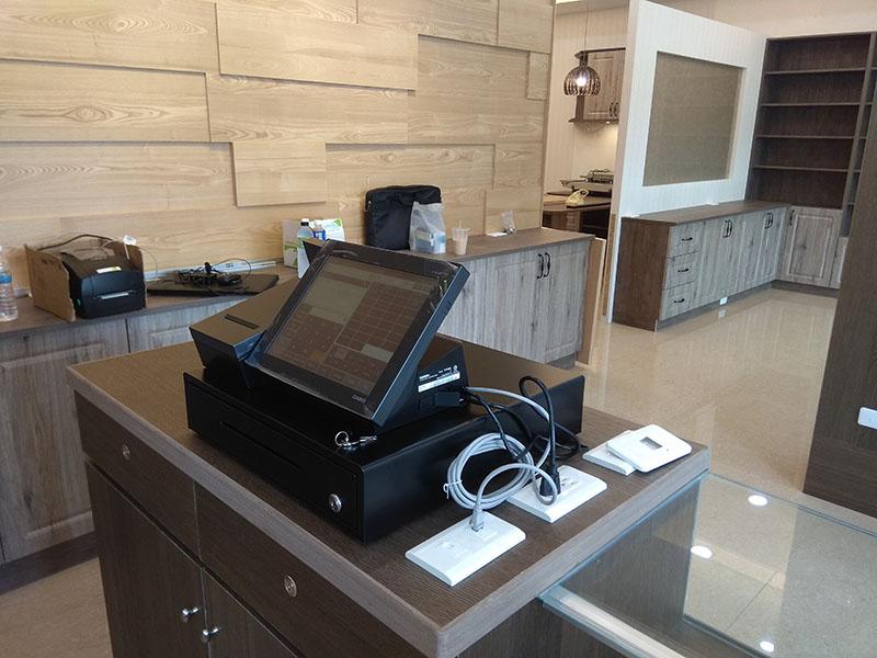 全口味手工肉乾Casio V-R100電子發票收銀機系統導入