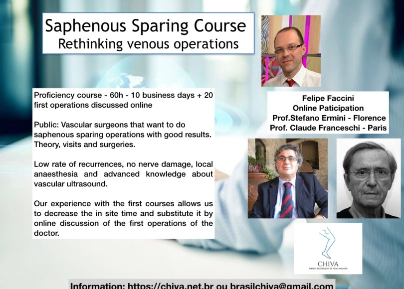 saphenous vein sparing course