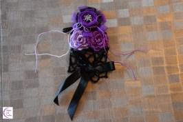 Roses headpiece +°+ Accessoire cheveux roses