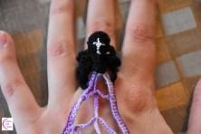 Spider ring/bracelet +°+ Bague/bracelet araignée