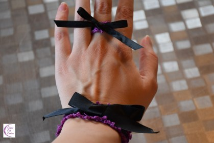 Bow ring and bracelet +°+ Bague et bracelet noeud