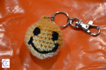 Smiley keychain +°+ Porte-clé smiley