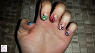 Christmas nail art +°+ Nail art de Noël