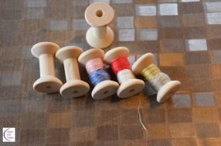 miniature thread +°+ fil pour miniature