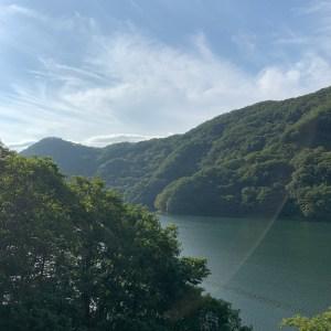 湖と思いきや、利根川!