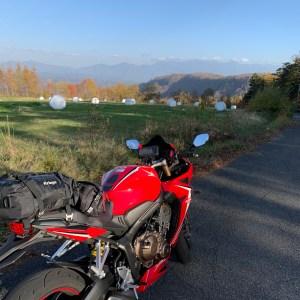 始めて眺望が抜けた御岳ブルーラインwithCBR650R