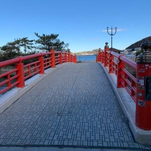 葉山・森戸神社横の橋