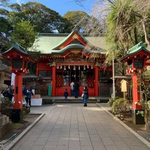江島神社第二の参拝所「中津宮」