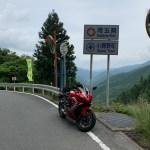 久々の越境!志賀坂峠にてwith CBR650R