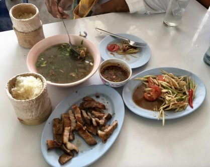 Mukdahan_Issan style lunch_2