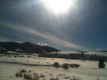 Driving back to South Fork from Creede.