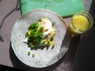 Breakfast, mmmm.