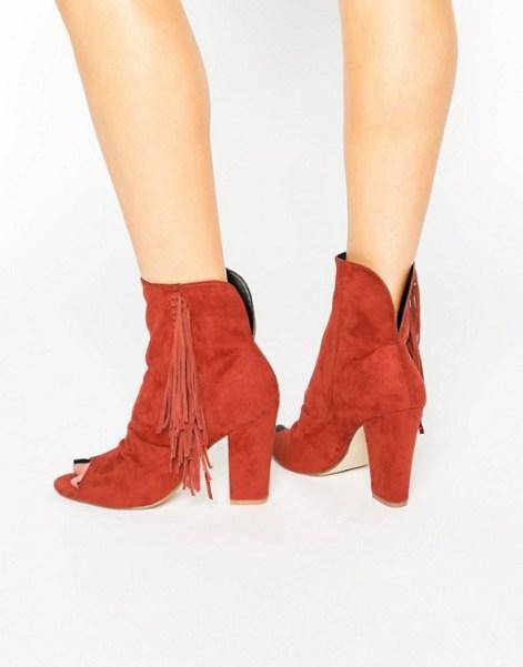 Brown Tassle Boots