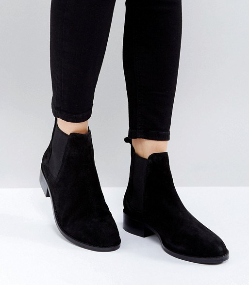 Ankle Boots - Black Suede 1