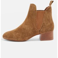 Ankle Boots - Brown Suede 1