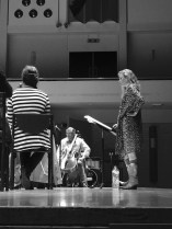 Chloé in rehearsals for 'Morning Blossoms' with the Netherlands Symphony Orchestra www.morningblossoms.nl