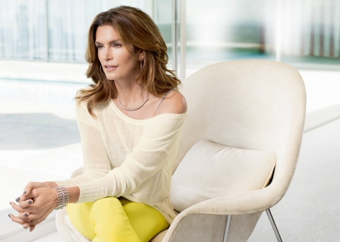 cindy crawford c&a une