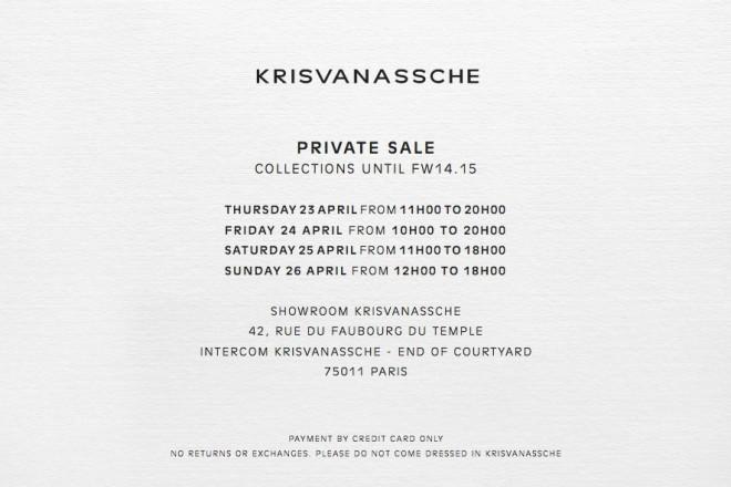 VP Kris Van Assche 23 avril 2015