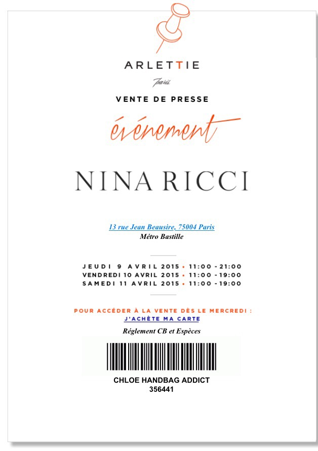 VP Nina Ricci 2015