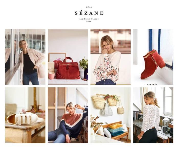 ventes privées Sezane