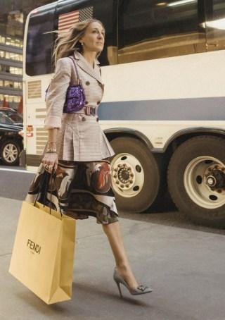 Carrie Bradshaw sac baguette Fendi