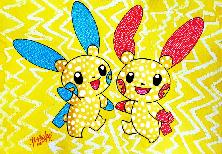 29. Double Plusle and Minun (2)