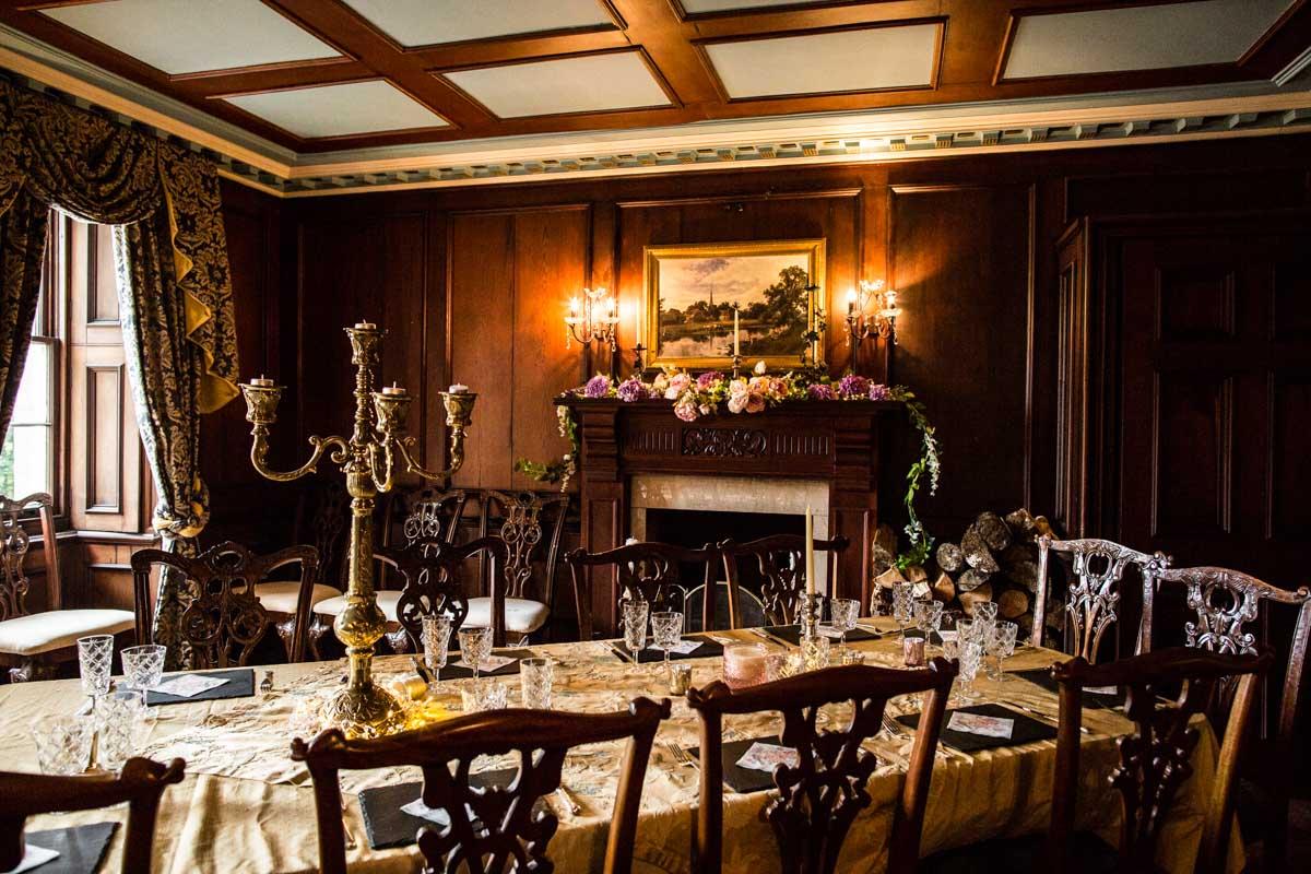 Glasgow wedding photographer. Old Kilmun House, Dunoon wedding. Wedding breakfast.