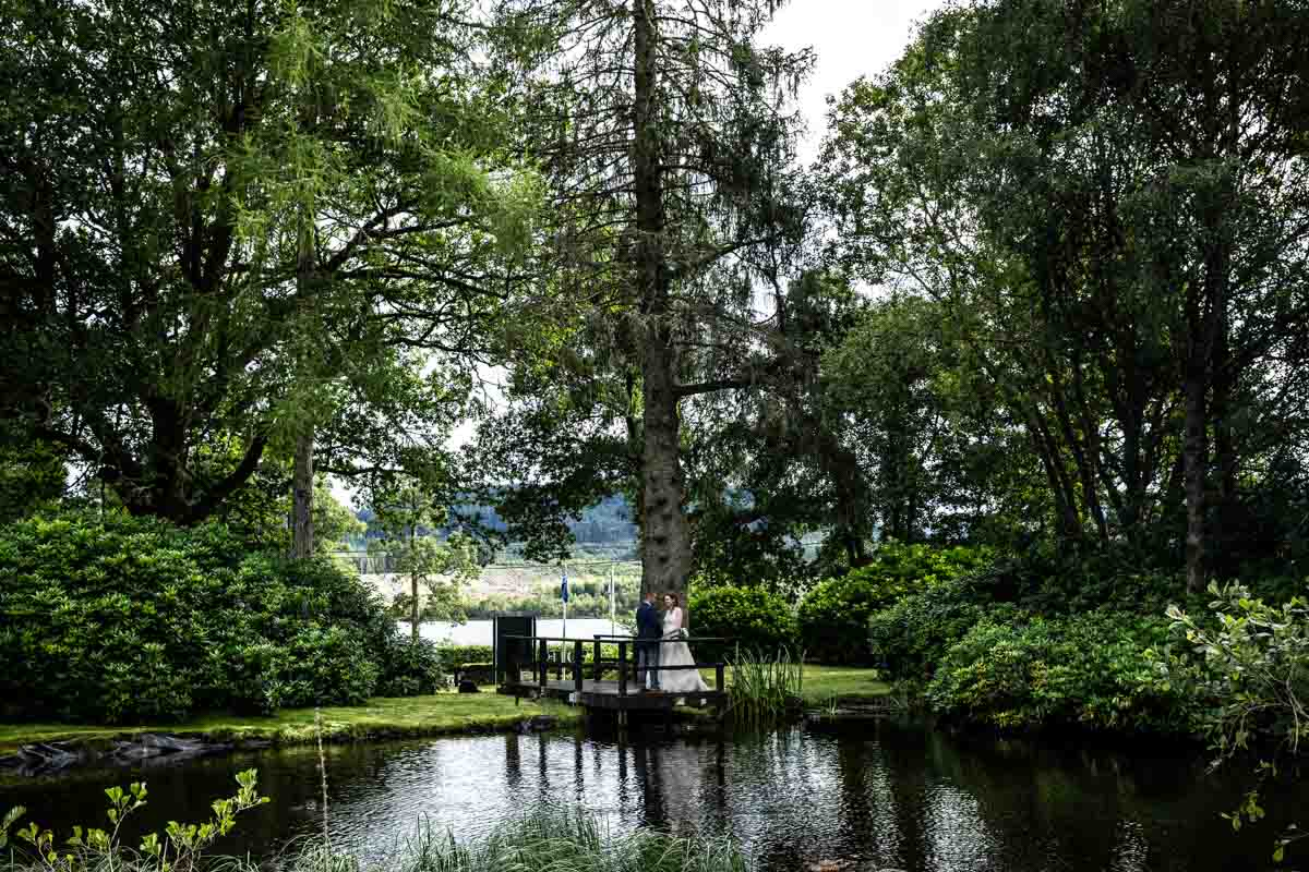 Wedding venue with lake in Scotland, MacDonald Forest Hills Hotel